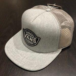 Vans Retro Check Trucker Hat